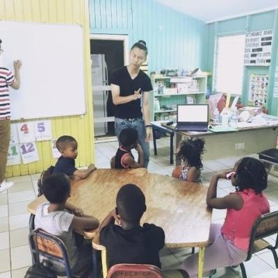 ジャマイカでチャイルドケア&地域奉仕活動 平嶋大雅